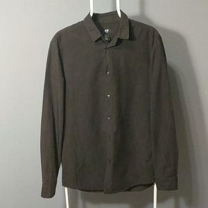 Faded Black H&M dress shirt.